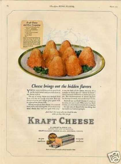 Kraft Cheese Color (1923)