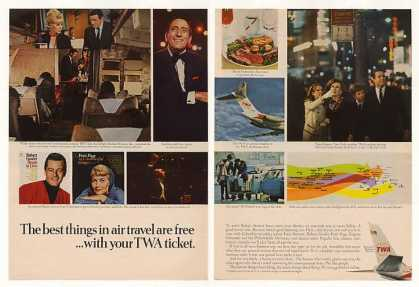 TWA Airlines Inflight Movies Music DC-9 Jet 2-P (1966)
