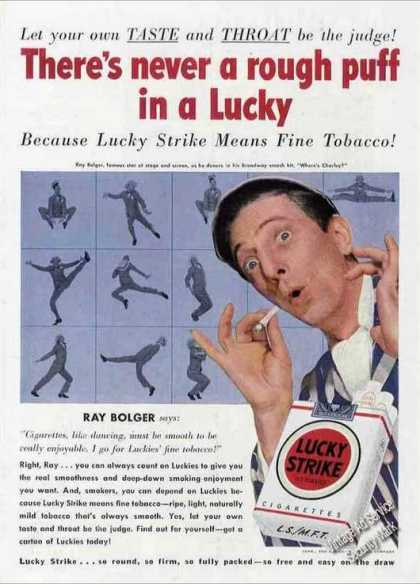 Ray Bolger Photo Lucky Strike (1950)