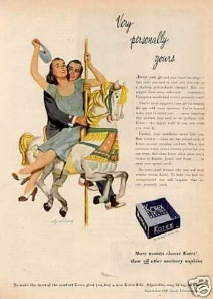Kotex Sanitary Napkins (1947)