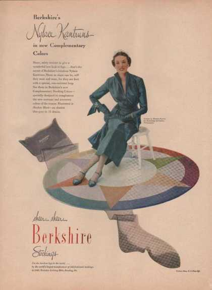 Berkshire Nylace Kantrums Stockings (1949)