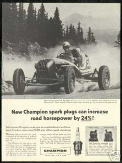 Bob Unser Race Car Pikes Pike Vintage Champion (1956)