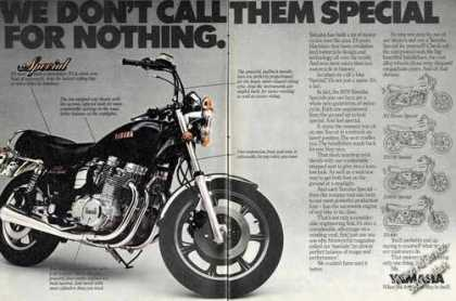 Yamaha Xs Special Two Page Motorcycle (1979)