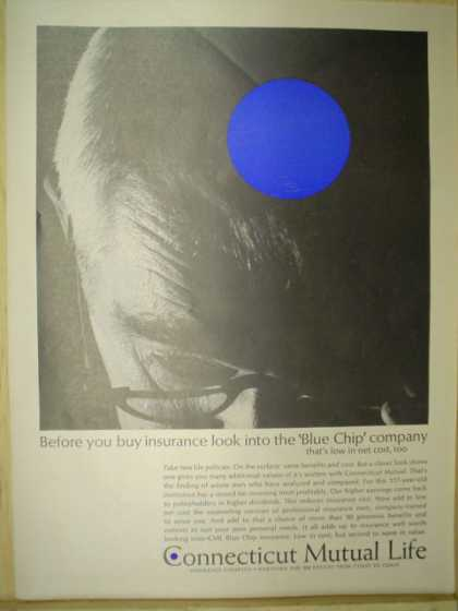 Connecticut Mutual Life Insurance. The blue chip company (1963)