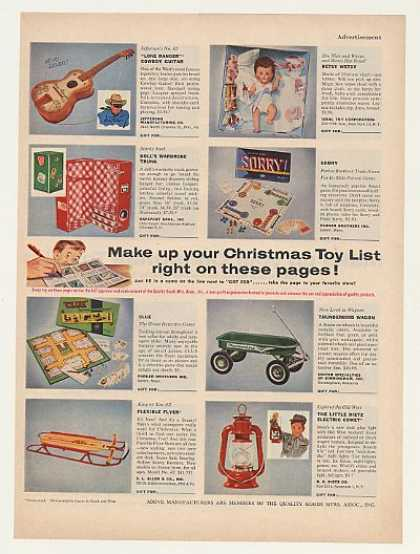 1950 Christmas Toys For Boys : Vintage toy advertisements of the s page