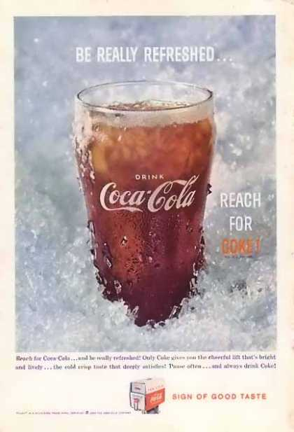 Coke Reach For Coke (1959)