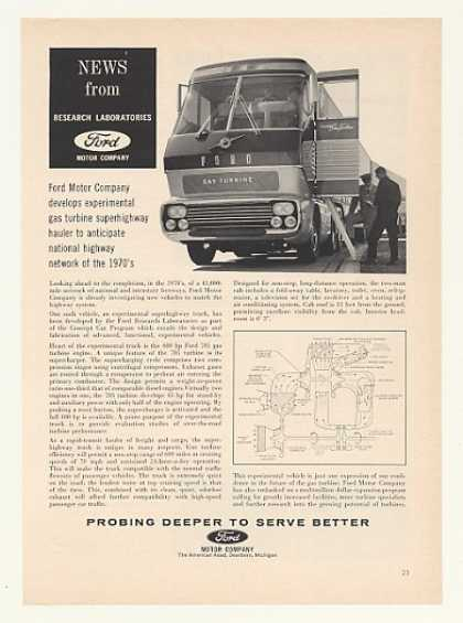 '64 Ford Gas Turbine Experimental Superhighway Truck (1964)