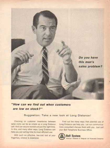 Bell Telephone System – Long Distance Service Call (1966)
