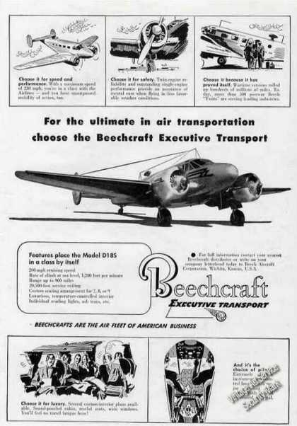 Beechcraft D18s Executive Transport (1951)