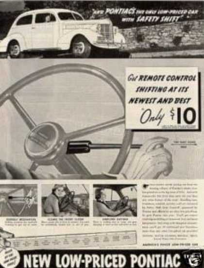 Pontiac Six Car (1938)