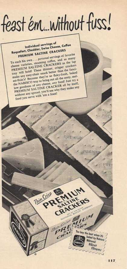 Premium Saltine Crackers (1951)