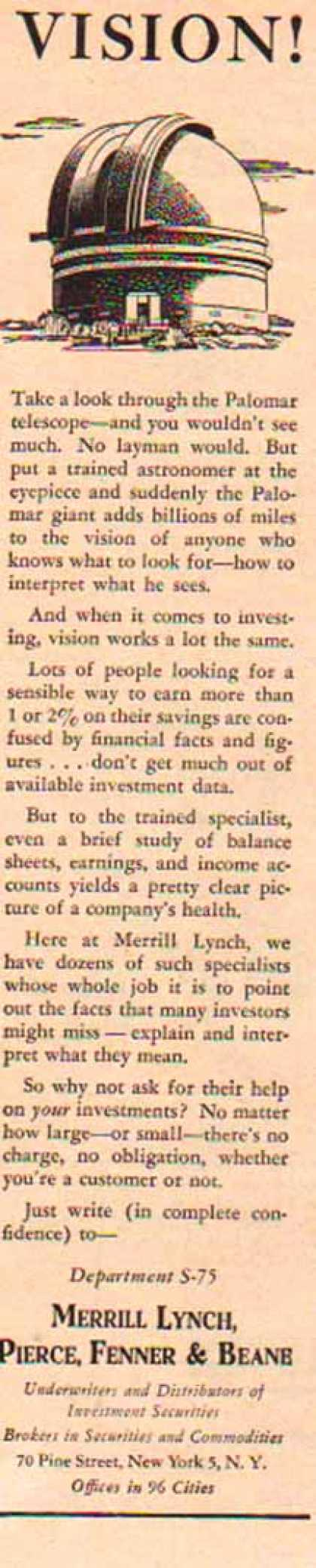 Merrill Lynch – Vision (1949)