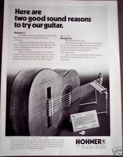Contessa Guitars By Hohner Music (1975)