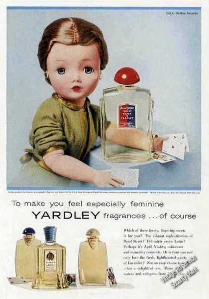 Yardley Fragrances With Madame Alexander Doll (1957)