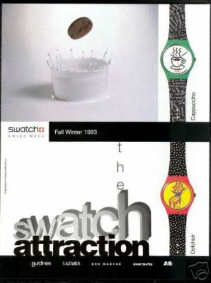 Swatch Dotchair Cappuccino Watch Photo (1993)