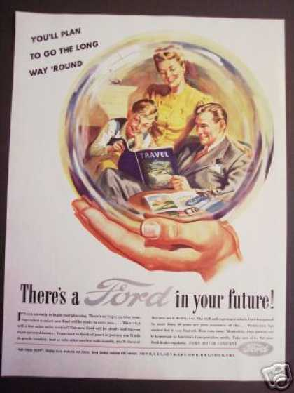 Ford In Your Future Crystal Ball Car (1945)