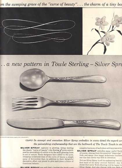 Towle&#8217;s Silver Spray (1955)