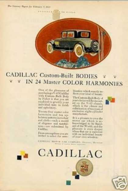 Cadillac Car Color (1925)