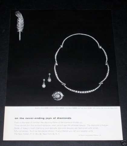 Old , De Beers Diamonds, Brilliant (1964)