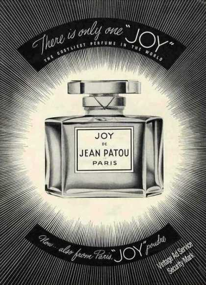 "Joy De Jean Patou ""There Is Only One"" (1949)"
