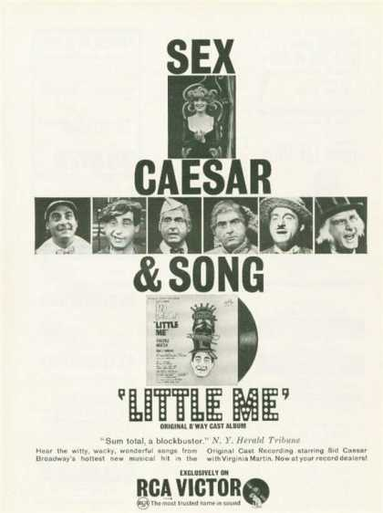 Rca Victor Sid Caesar Broadway Little Me (1963)