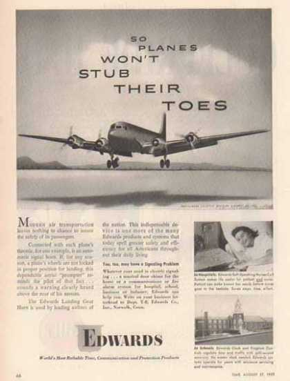 Edwards Communication in Aviation – Douglas Aircraft (1951)