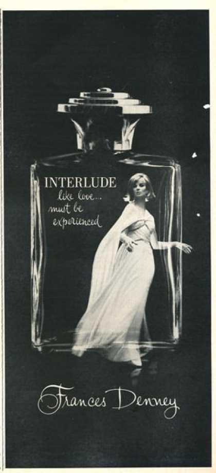 Frances Denney Interlude Perfume Bottle (1966)