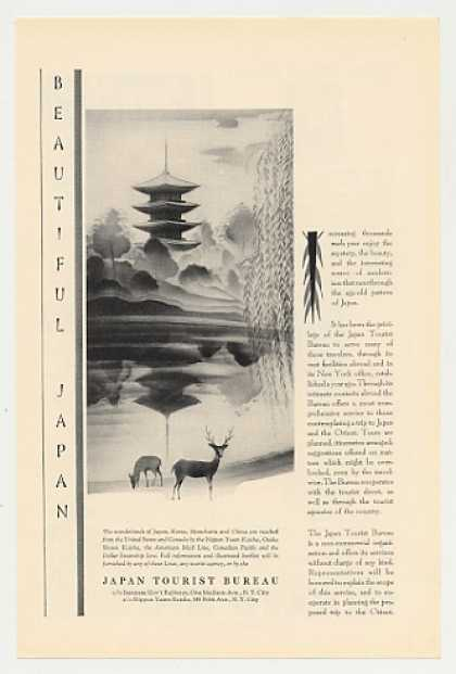 Japan Tourist Bureau Japanese art (1930)
