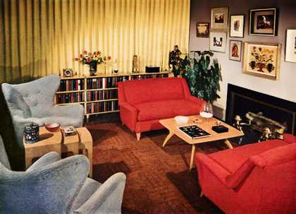 """Home-Planned"" furniture 			Heywood-Wakefield (1950)"
