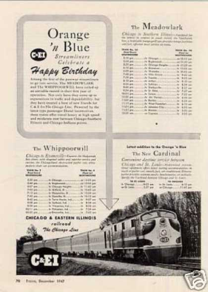 Chicago & Eastern Illinois Railroad (1947)