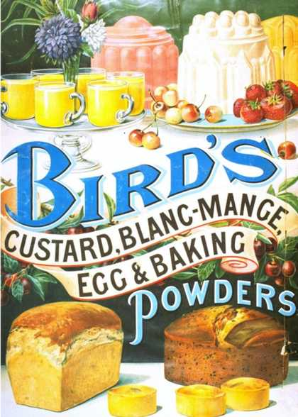 Bird's, Custard Blancmange, UK (1920)