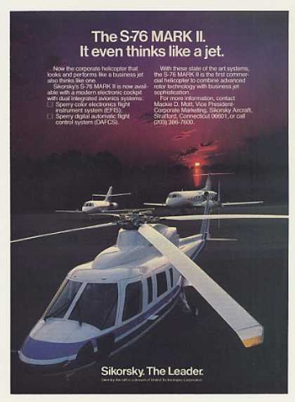 Sikorsky S-76 Mark II Corporate Helicopter (1983)