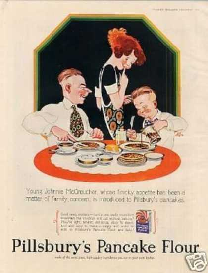 Pillsbury's Pancake Flour Color (1928)