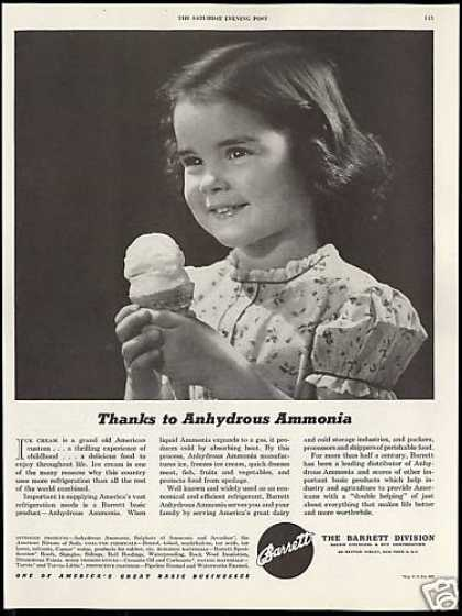 Barrett Anhydrous Ammonia Ice Cream (1946)