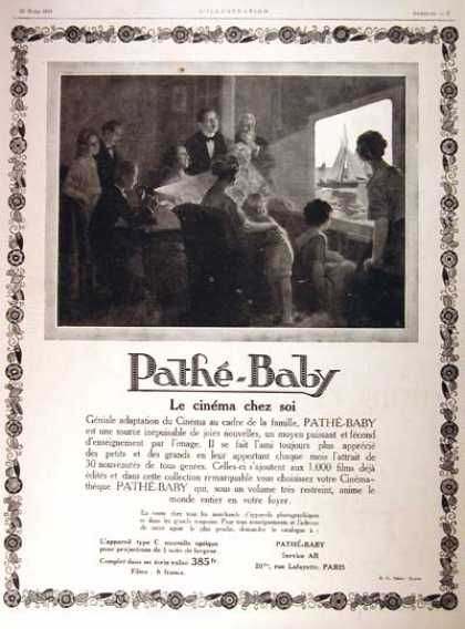 Pathé Baby Film Projector (1924)
