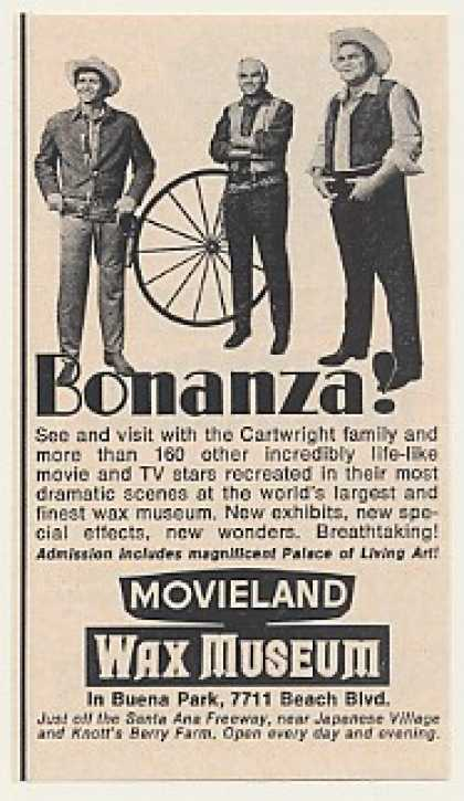 Bonanza Cartwright Family Movieland Wax Museum (1969)