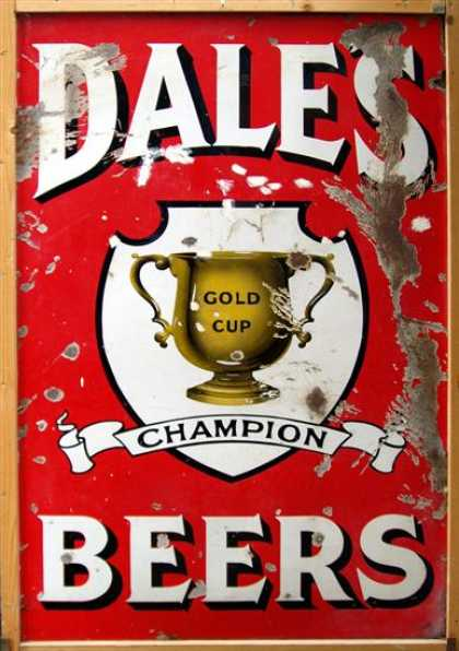 Dale's Gold Cup Beers