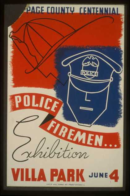 [Du]Page County centennial – Police, firemen...exhibition / Dusek. (1939)