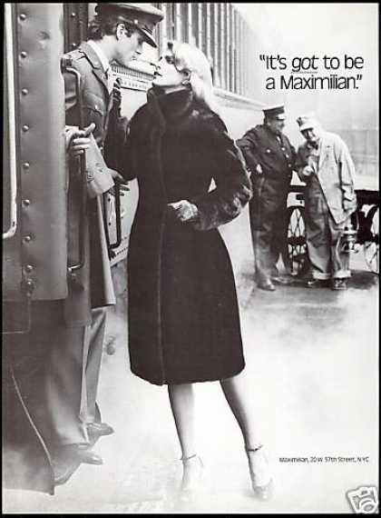 Maximilian Fur Coat Train Pretty Woman Soldier (1979)