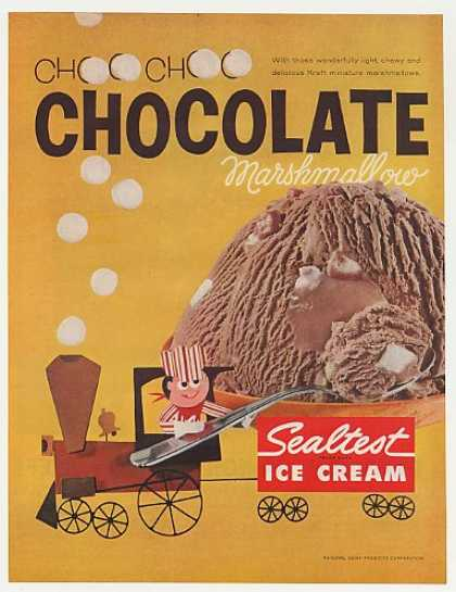 Sealtest Chocolate Marshmallow Ice Cream Train (1962)