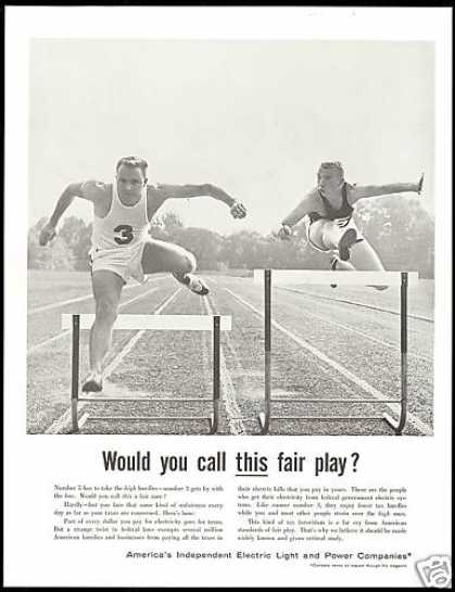 Field & Track Hurdles America Light Power (1957)
