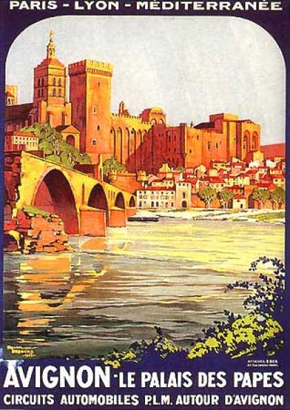 Avignon by Roger Broders (1922)