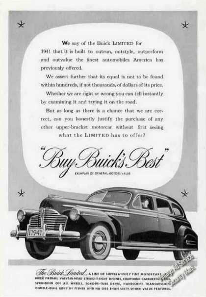 Buick Limited Photo Car (1941)