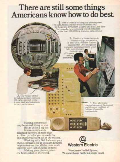 Western Electric Bell System &#8211; Bell Labs Switching Systems (1975)