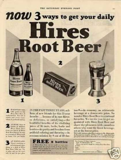 Hires Root Beer (1920)