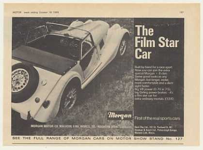 Morgan + 8 Film Star Car British (1969)