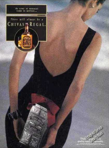 "Chivas Regal ""As Long Messages Come In Bottles"" (1993)"