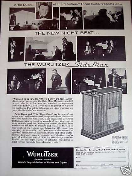 Wurlitzer Side Man Electronic Percussion (1961)