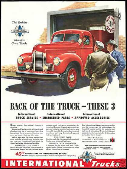 IHC International Truck 40th Anniversary (1947)