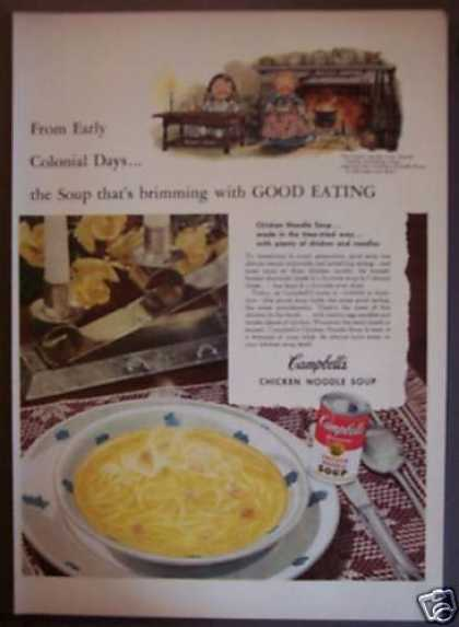 Campbell's Chicken Noodle Soup (1952)